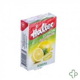 Halter Bonbon Citron Sans sucre         40g