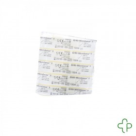 Bd Microlance 3 Aig. 30g 1/2rb 0,3x13mm Jaune 10