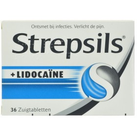 Strepsils + Lidocaine Past...