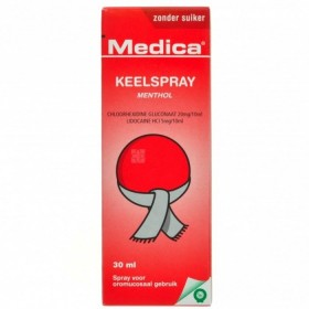 Medica Spray pour la Gorge 30ml