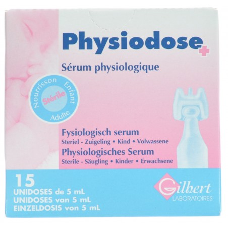 Physiodose Sol Nasal-ophtalmique 15x5ml