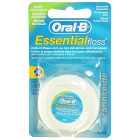 Oral B Esssential Floss Mint Waxed 50m