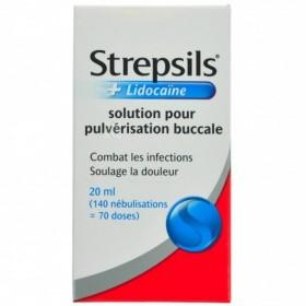 Strepsils + Lidocaïne, Spray pour la Gorge
