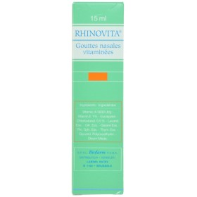Rhinovita New Gouttes Nasal 15ml