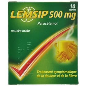 Lemsip Lemon 500 Sachets 10