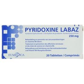 Pyridoxine comprimes. 20x250mg