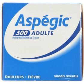 Aspegic 500 Poudre 30x 500mg