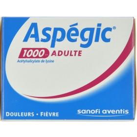 Aspegic 1000 Poudre 20x1000mg