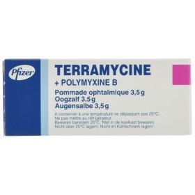 Terramycine Ung Opht 1 X 3,5 G