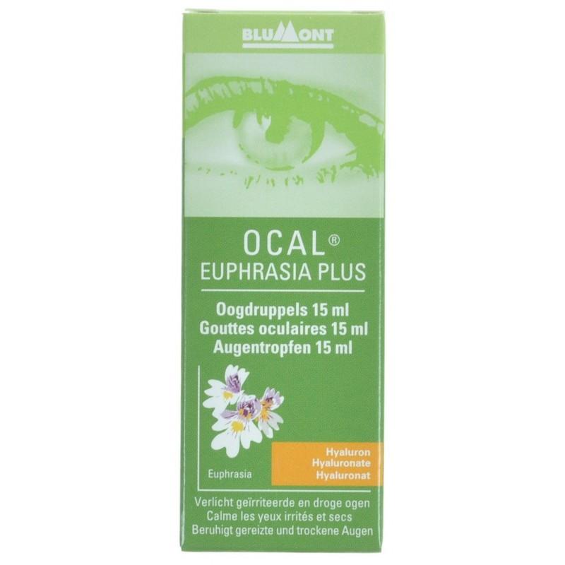 Ocal Euphrasia Plus Gouttes Oculaire 15ml
