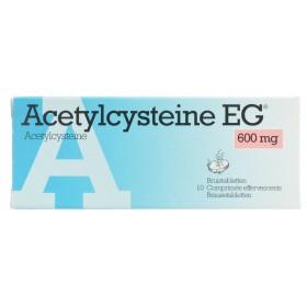 Acetylcysteine Eg Comprimés Eff 10x600mg
