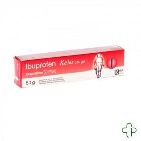 Ibuprofen Kela 5 % Gel 50 G