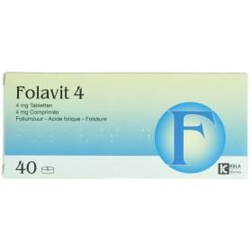 Folavit 4,0 Mg Tabl 40 X...