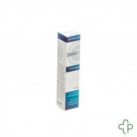 Dentio Gel Buccal Tube 15ml