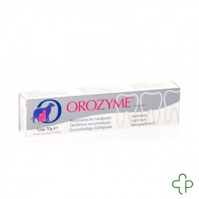 Orozyme Canine dentifrice Enzymatique Chien  Tube  70g