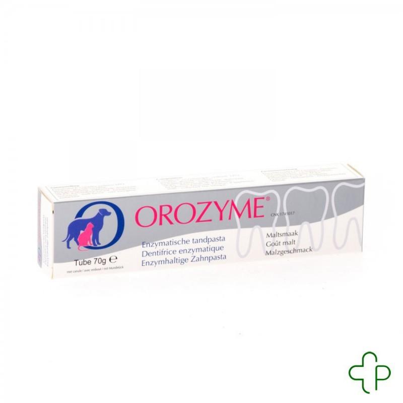 Orozyme Canine dentifrice Enzymatique Chien  Tube  70g