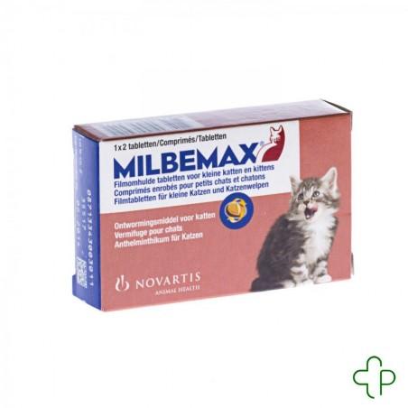 Milbemax Petit Chats - Kitten Comprimés Pelliculés 1x2
