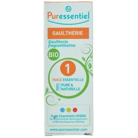 Puressentiel Expert Gaultherie Bio    Huile Essentielle 10ml