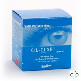Cil-clar Hygiene Paupiere cp Unidose 20