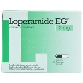 Loperamide Eg Capsules  60x2mg