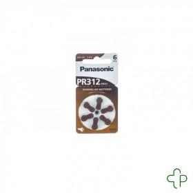 Panasonic Batterie Appareil Oreille Pr 312h 6