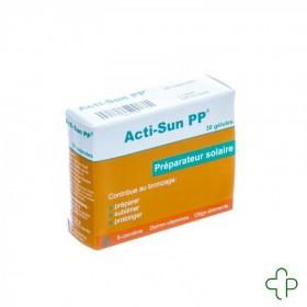 Acti-sun Pp                         Caps  30