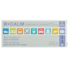 R Calm Dimenhydrinate Comprimés 24