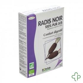 Radis Noir Bio              ampoules 20x10ml Biotechnie