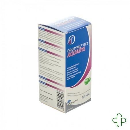Orozyme Rf2 Aquadyl Anti Plaque Chien-chat 250ml