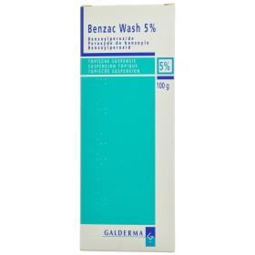 Benzac Wash Susp 5 % 100 G