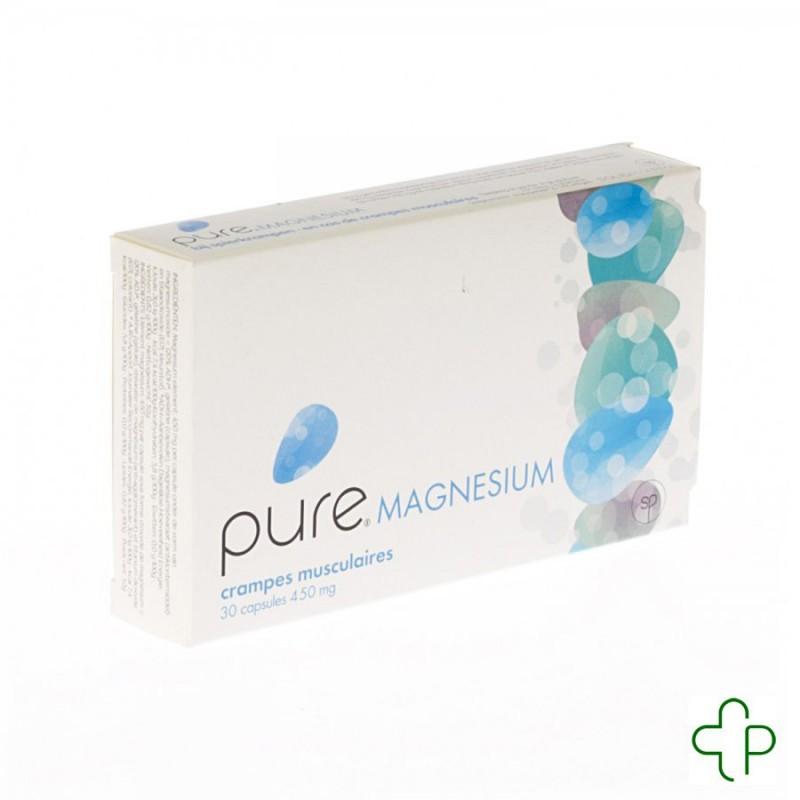 Pure Magnesium Capsules 30