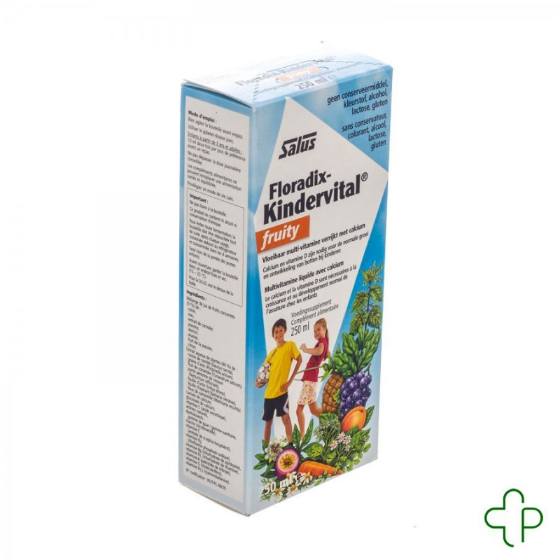 Floradix Kindervital Fruity   250ml