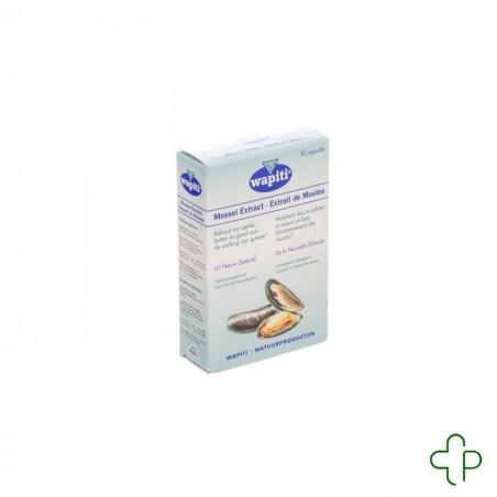 Wapiti Extrait Moules Capsules 30x500mg