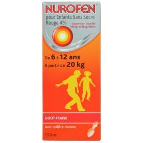 Nurofen Enfant Fraise 4%...