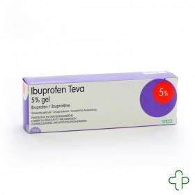 Ibuprofen Teva Gel Tube 120 G