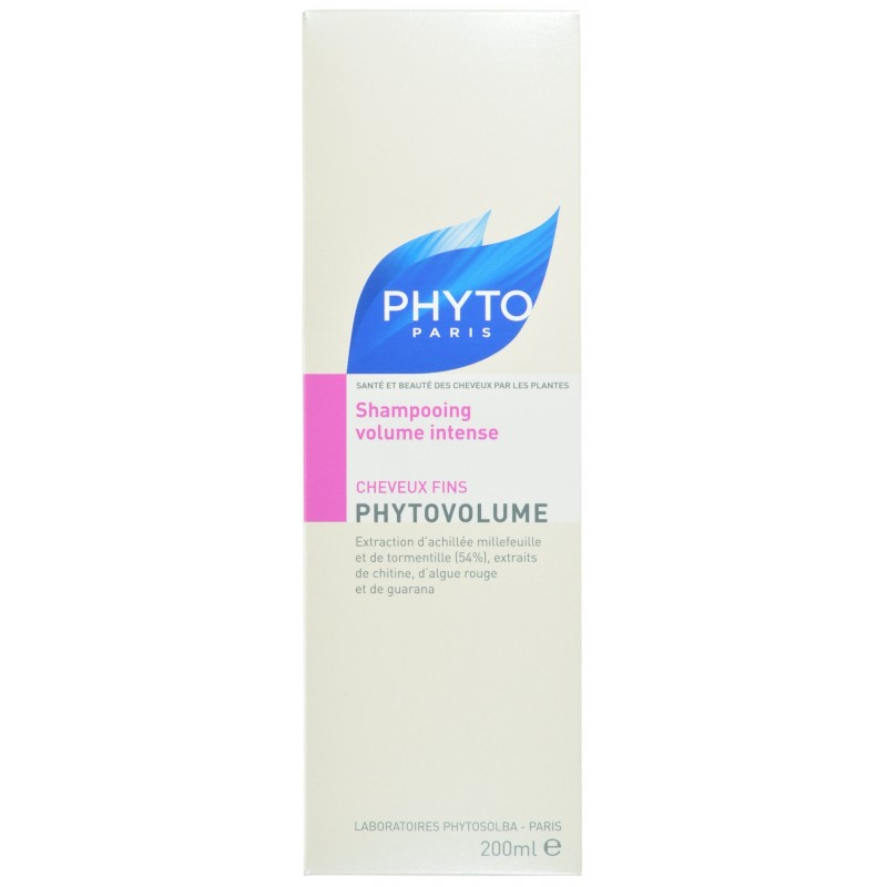 phytovolume shampoing cheveux fins nf 200ml acheter en ligne. Black Bedroom Furniture Sets. Home Design Ideas