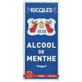 Ricqles Alcool de Menthe flacon 10cl