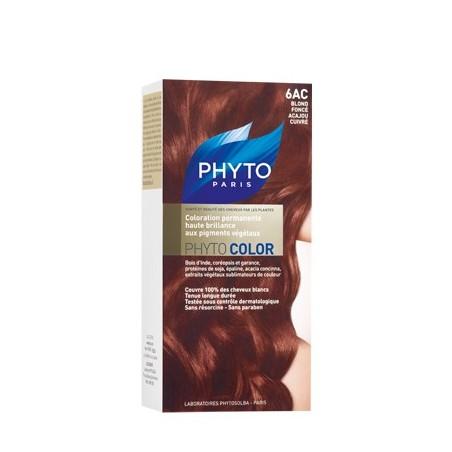 Phytocolor 6ac Blond Fonce Acajou Cuivre