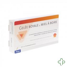Gelee Royale et Miel Bio Buvable Unidose 10x10ml