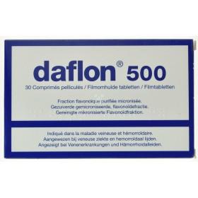 Daflon 500 Mg 30 Comprimés