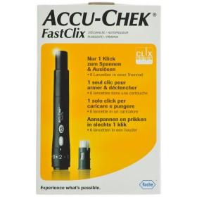 Accu Chek Fastclix (piqueur+lancet 1x6)05864666171