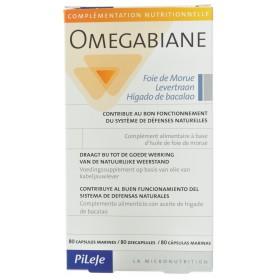 Omegabiane Foie de Morue Capsules  80