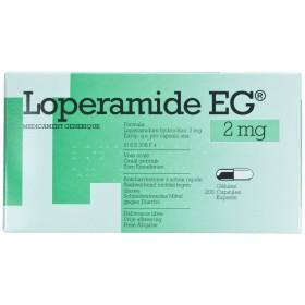 Loperamide Eg Capsules 200x2mg