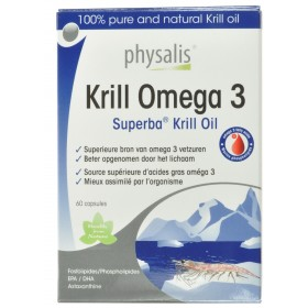 Physalis Krill Omega 3      Capsules 60