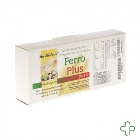 Herborist Ferro Plus         Amp 20x10ml  0718