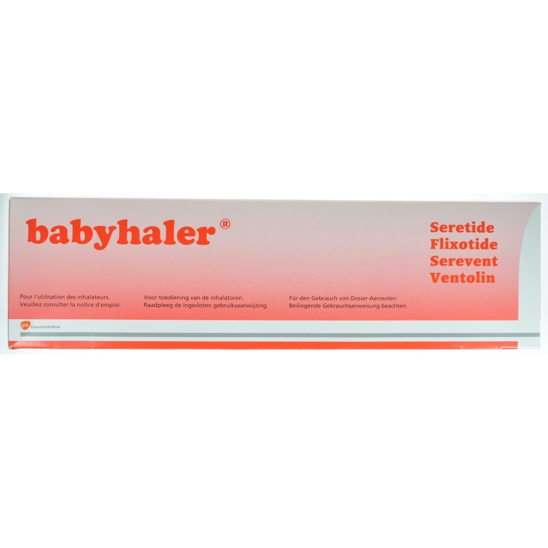 Babyhaler Chambre Inhalation Masque Bb 2 Valves