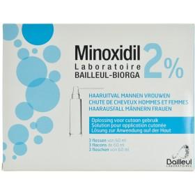 Minoxidil 2% Sol Applicat Cutanee Coffret 3flx60ml