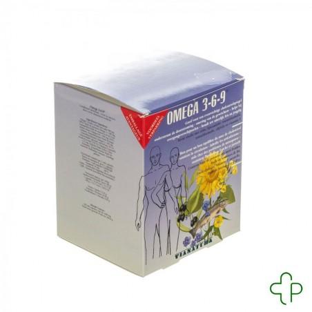 Via Natura Omega 3-6-9 Softcaps 160