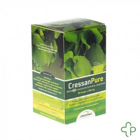 Cressan Pure V-Capsules 90x500mg