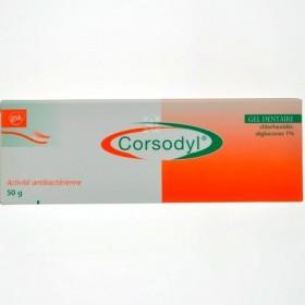 Corsodyl 50 G Gel